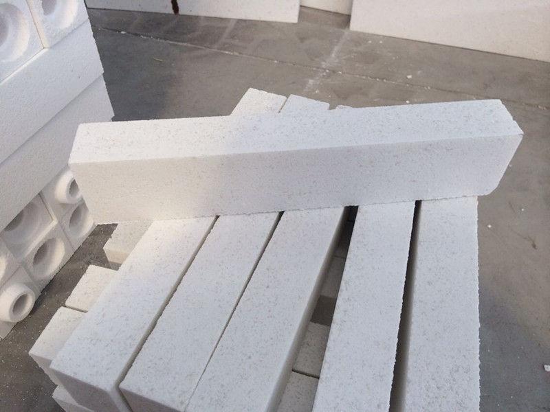 Good Wear Resistance and High Purity Corundum Brick for Glass Furnace / Gas Furnace