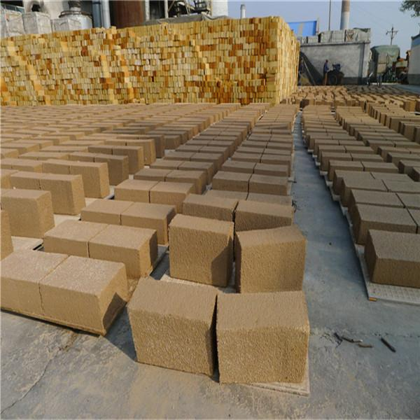 High Temperature Resistant Stove Fire Bricks Standard Size For Steel Industry