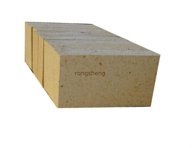 Dry Pressed Furnace Bricks High Alumina Refractory Brick For Cement Kiln