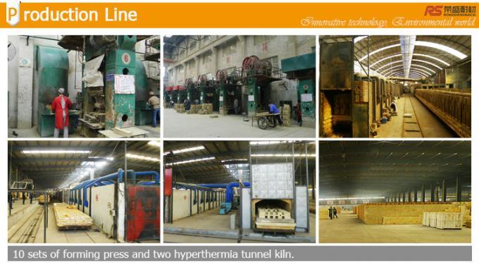Ceramic Tunnel Kiln Use Casting Big High Alumina Refractory Brick