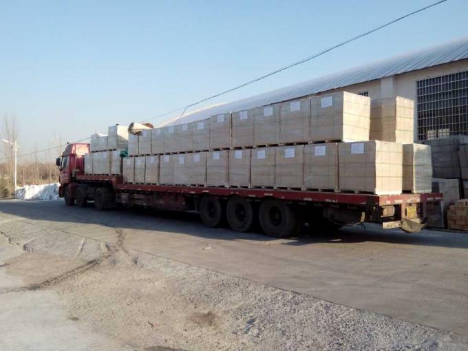 Low Density Fire Insulation Bricks , Size Customized Lightweight Fire Brick For Furnace