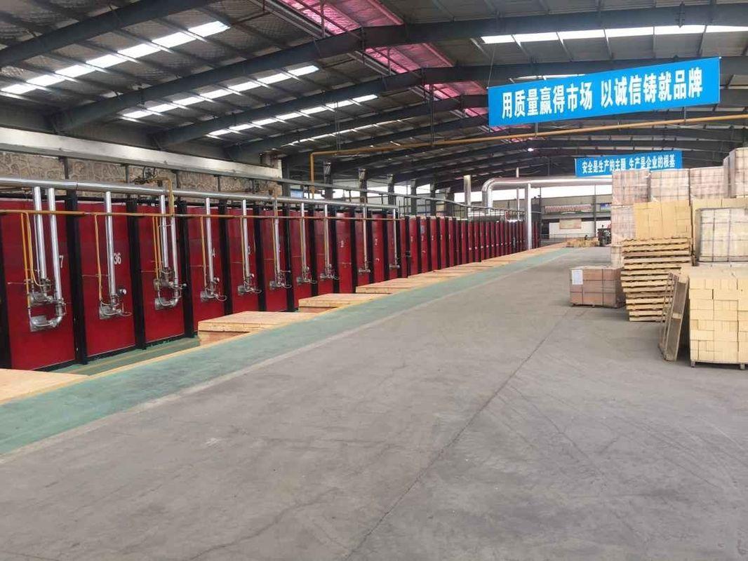 Light Weight High Alumina Kiln Refractory Bricks With Small Thermal Conductivity