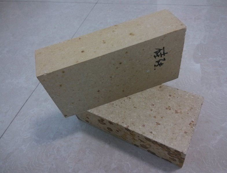 Insulating Silica Fire Brick For Glass Kiln , Acid Resistance Refractory Fire Bricks